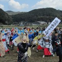宮地岳かかし祭り