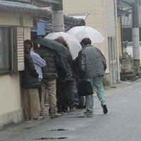 日本一の明月さんに長蛇の列