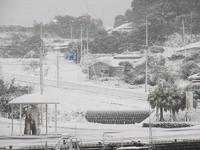 異国の地『薩摩』も雪景色だった