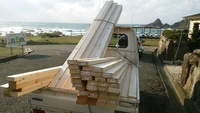 屋根DIY作業開始!