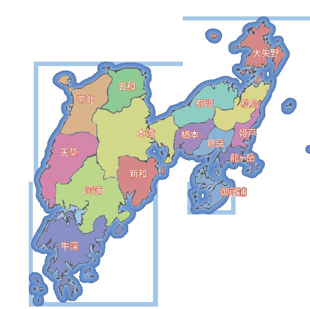 天草エリアマップ