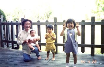 ハウステンボス母と子供たち