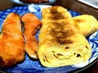 たまご焼き&鮭♪♪からの~豚丼♪♪