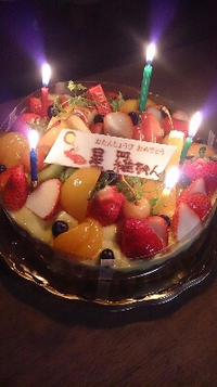 娘の誕生日♪