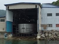0528建造中・28m箱船