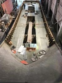 青森25m定置船建造中171216