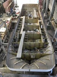 富山県灘浦定置船21m建造181013