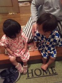 お盆休み孫たちと過ごしましたー。