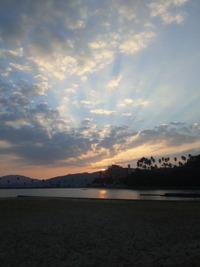 宝島天草市今現在朝焼けロケーション茂木根海岸線により