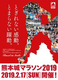 日曜日は熊本城マラソン2019❗