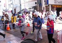 息子の熊本城マラソン