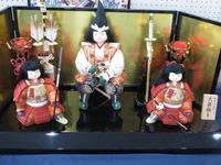 端午の節句人形展に行ってきました