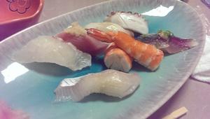 家本さんといただいたお寿司