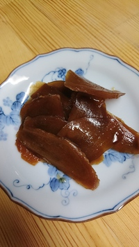 新生姜のつくだ煮