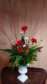 アレジメントフラワー「クリスマスの花」