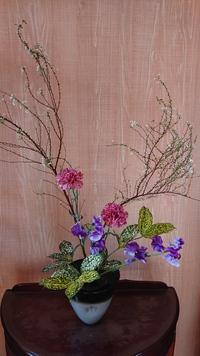 自由花「春色の花材」