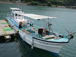 観光遊覧船 「颯月丸」