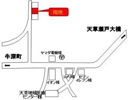 枦宇土案内地図