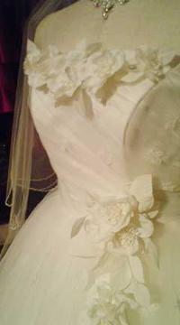 ウエディングドレスの縫い方について