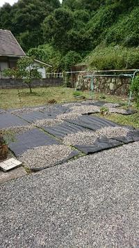 お庭改良計画その4