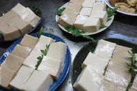 ごま豆腐、ピーナッツ豆腐作りました