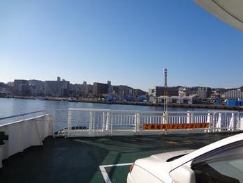 もちろん向こうは鹿児島市街地。これから我が家へ帰るのである。お疲れ~!